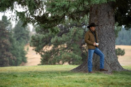 """Kevin Costner as John Dutton. season 3 Episode 6 of Yellowstone - """"All for Nothing"""""""